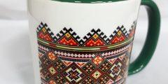 Печать на чашке - узор