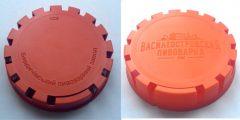 Нанесение иображение на форму для термопластавтомата. Результат отливки