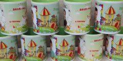 Печать на чашках для выпускного в детском саду