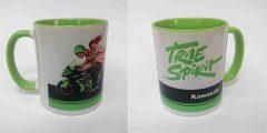 Печать на чашке - мотоцикл Kawasaki