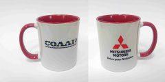 Печать на чашках для автосалона Солли+