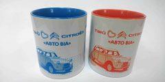 Печать на чашках - автомобили Citroen