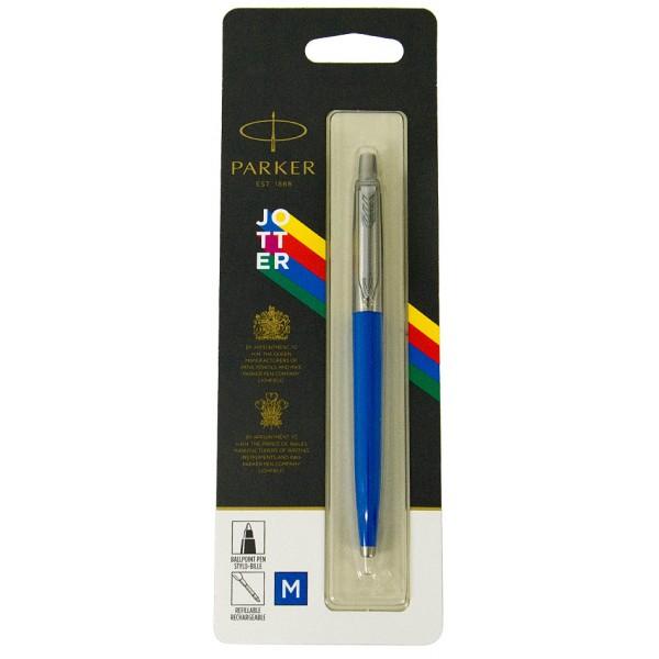 Шариковая ручка Parker JOTTER 17 Plastic Blue CT BP блистер 15 136