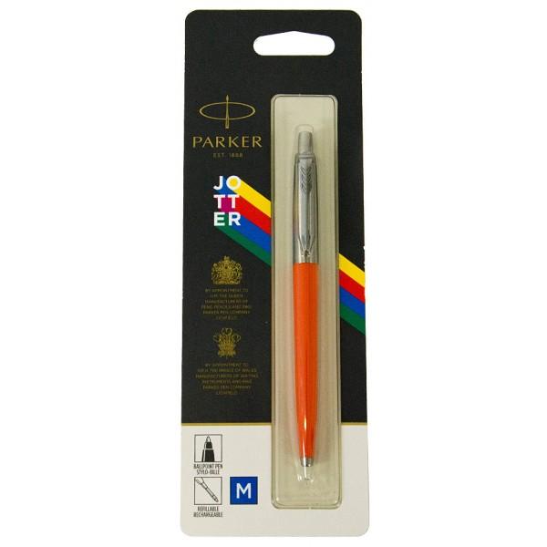 Шариковая ручка Parker JOTTER 17 Plastic Orange CT BP блистер 15 436