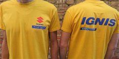 прямая печать на корпоративных футболках