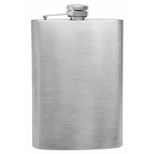 Фляга металлическая Hip Flask Silver