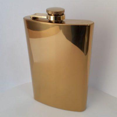 Фляга металлическая Hip Flask Gold