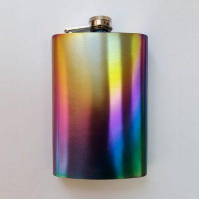 Фляга металлическая Hip Flask Rainbow