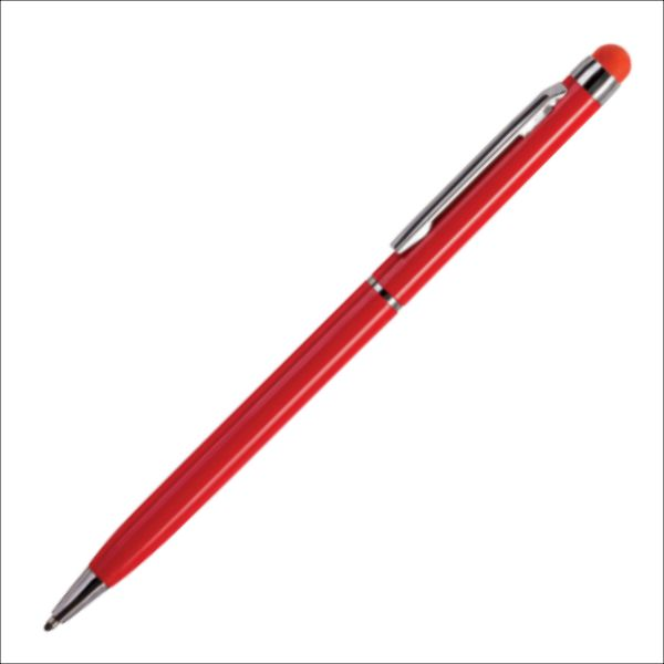 Ручка кулькова, металева з тачем Nexo Color