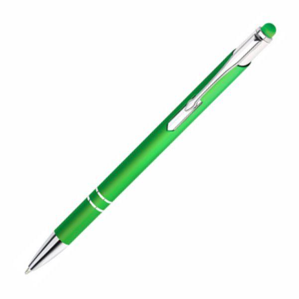 Ручка кулькова, металева з тачем Bello