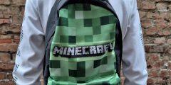 Печать на рюкзаке - Minecraft